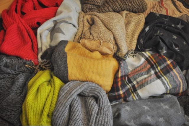 Schals Winter
