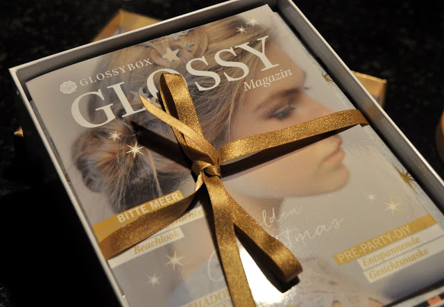 Glossy box Golden Christmas 2016