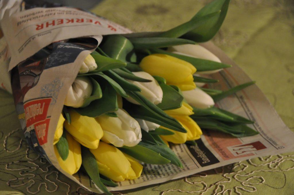 Tulpen in der Vase  🌷 So bleiben sie länger frisch.