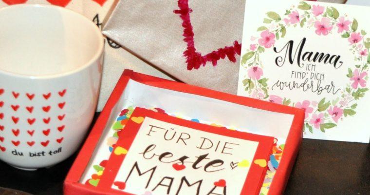 DANKE MAMA! Schöne DIY Geschenke zum Muttertag – PART 1