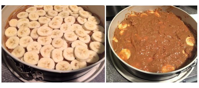 Bananen Karamell Kuchen
