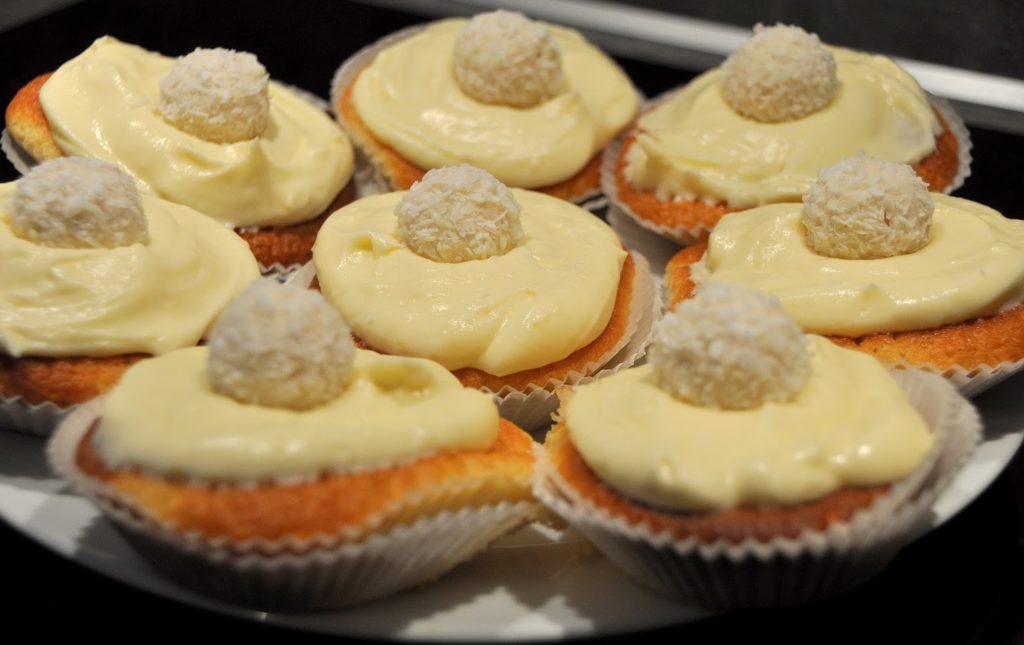 Raffaello Muffins – Leckere Kalorienbömbchen für das gemütliche Treffen mit der besten Freundin