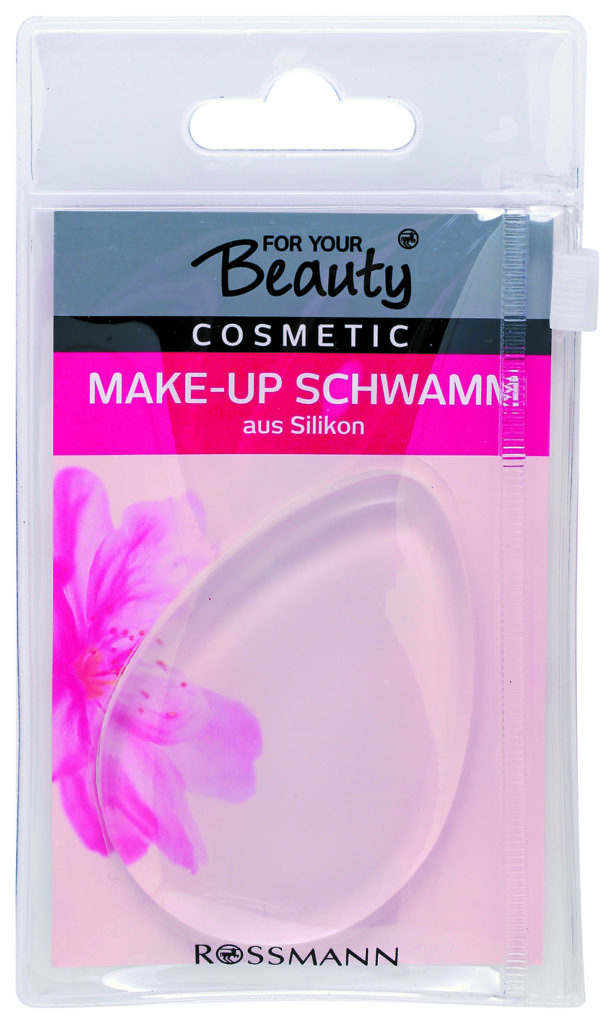 For Your Beauty Silikon Make-Up Schwamm