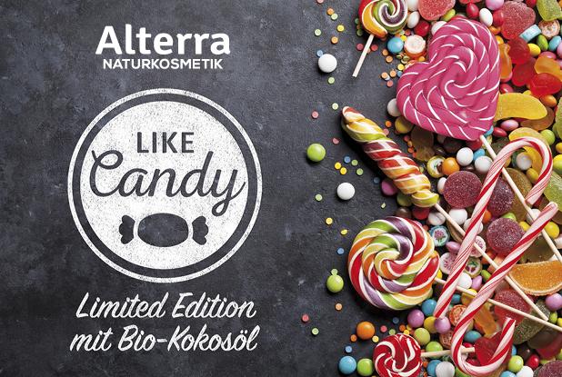PREVIEW: Alterra Naturkosmetik – Like Candy Limited Edition mit Bio Kokosöl