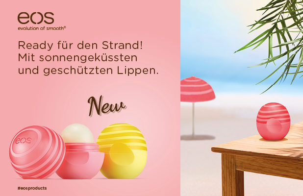 NEWS von eos!!! Die Active Kollektion: Jetzt kann der Sommer kommen!!!