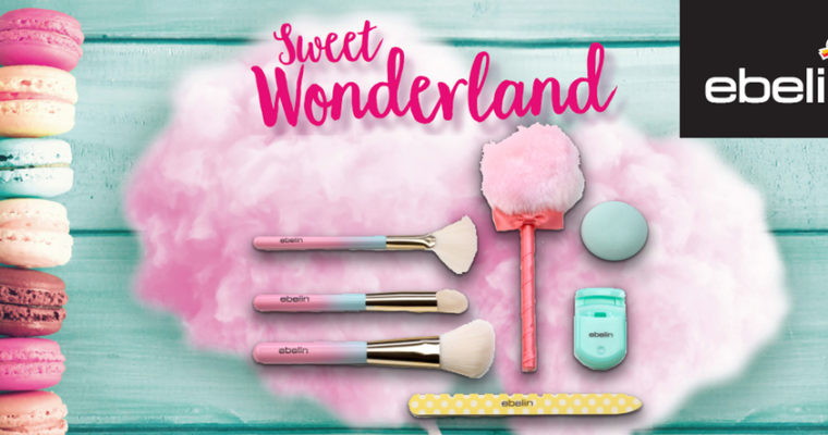 Preview: ebelin Sweet Wonderland – Make-Up Pinsel und mehr