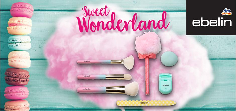 Preview: ebelin Sweet Wonderland – Make-Up Pinsel und mehr