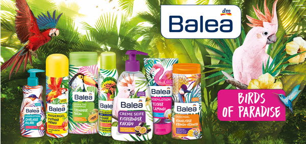 PREVIEW: Balea Limited Edition Birds of Paradise