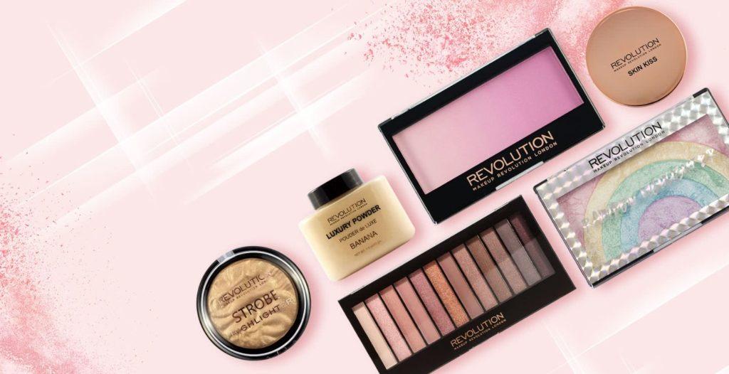 Makeup Revolution jetzt in der Rossmann Kosmetik Theke!