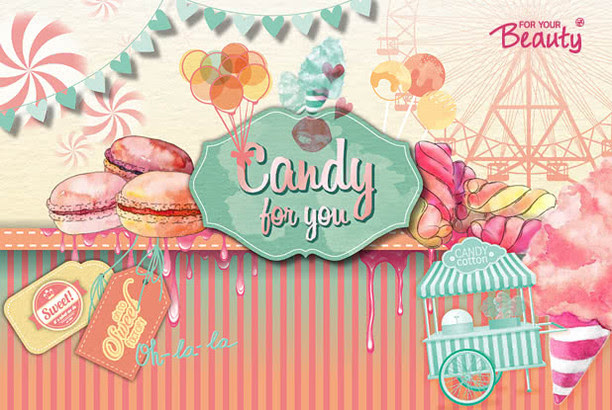 "Heute gibt's ""Candy for you"" von for your Beauty!"