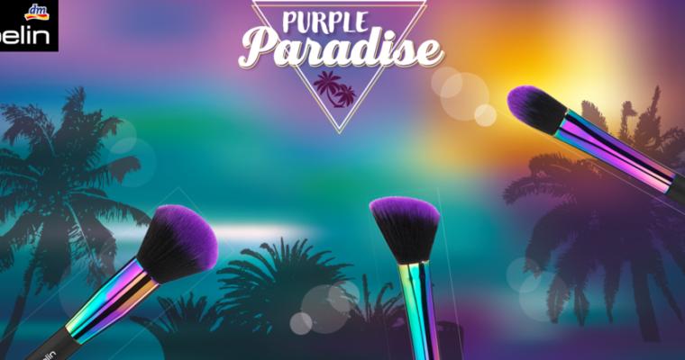 ebelin Purple Paradise – Pinsel, die nicht nur chic aussehen!?