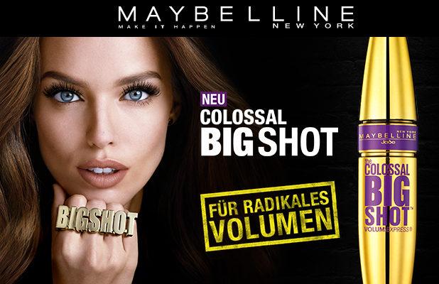 The Colossal Big Shot Mascara: Radikales Volumen für deine Wimpern – vom Ansatz bis in jede Spitze!