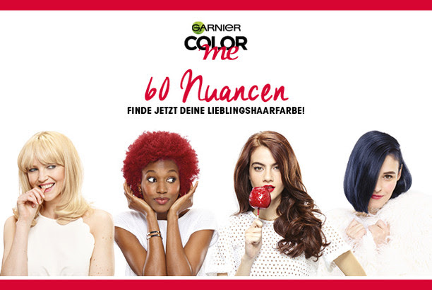 Garnier Color me – finde deine Lieblingshaarfarbe!