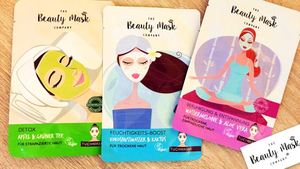 Neuentdeckung kurz vorgestellt: The Beauty Mask Company Tuchmasken