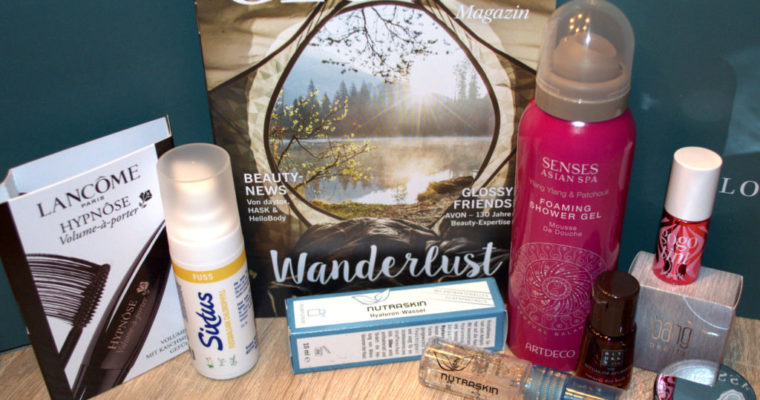 Glossybox September 2017 – Wanderlust Edition