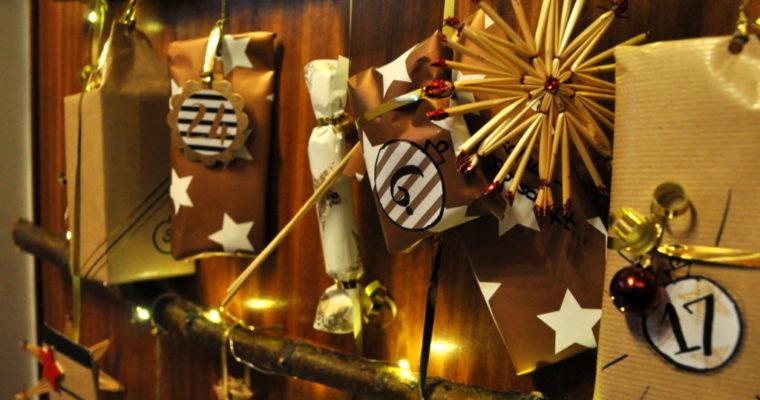 Adventskalender Tannenbaum DIY – ein Kalender für Freundinnen