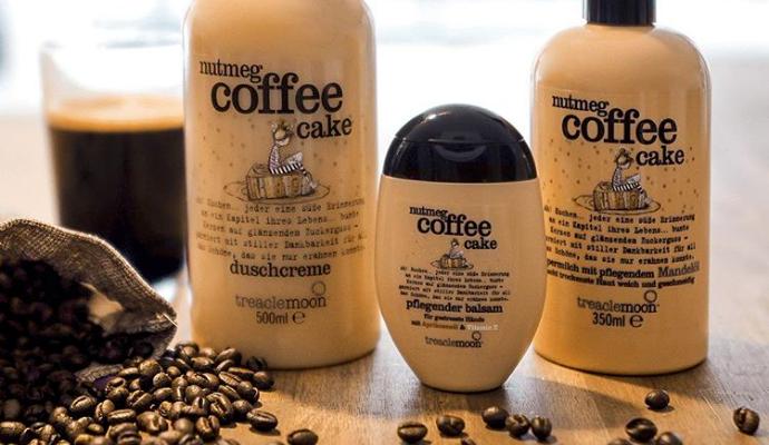 Mit Treaclemoon gibts Coffee jetzt auch unter der Dusche…