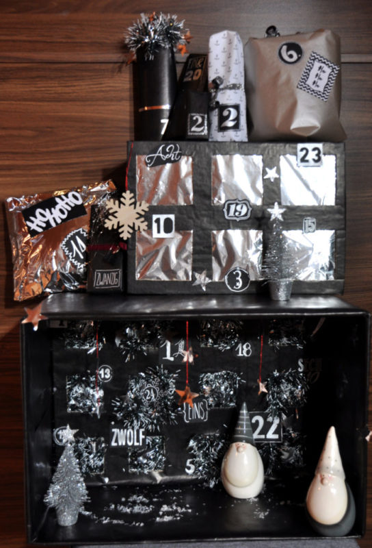 Last Minute Adventskalender DIY