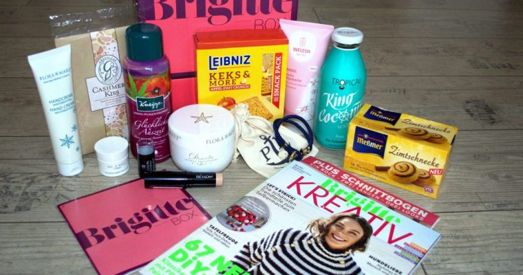 UNBOXING – Meine Brigitte Box Oktober/November 2017