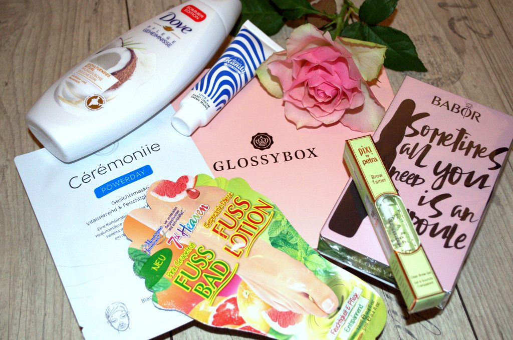 Glossybox Oktober 2017 – Home Sweet Home Edition