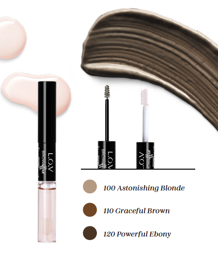 L.O.V news - Code: Nude - The Eyebrow Collection