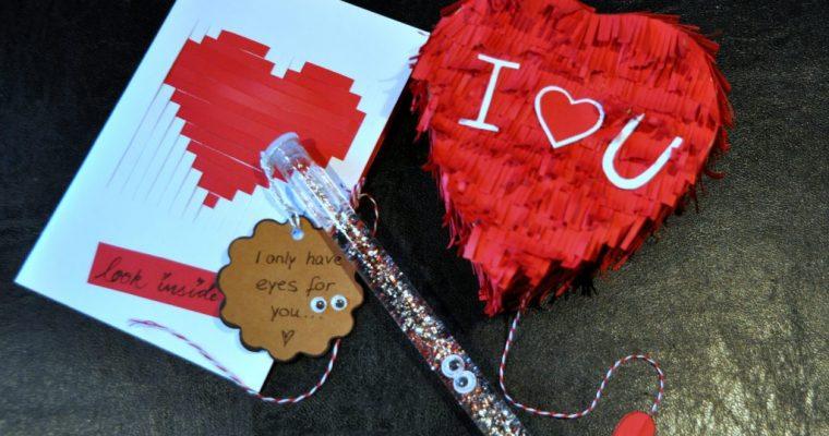 Süßes DIY zum Valentinstag: Mini Piñata zum Selbstbefüllen