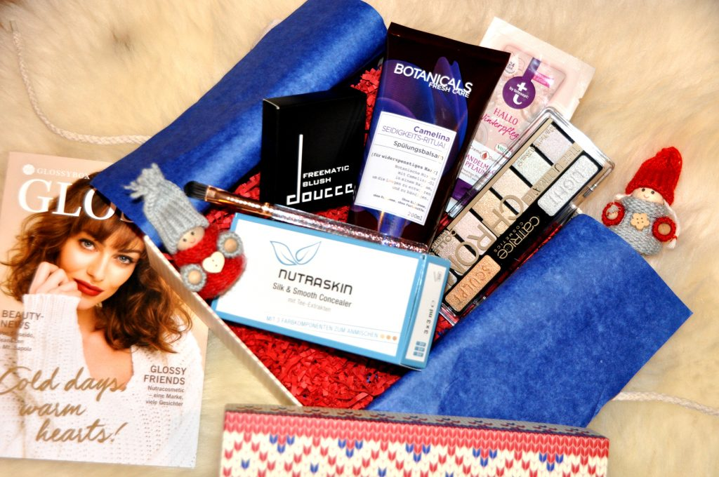 Glossybox Dezember 2017 – Cold Days Warm Hearts Edition