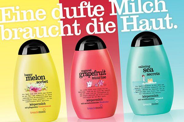 Rundumverwandlung: die Körpermilch von treaclemoon jetzt in neuem Design!