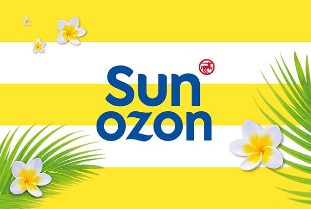 Hello Sunshine, die neue sunozon Sonnenpflege ist da.