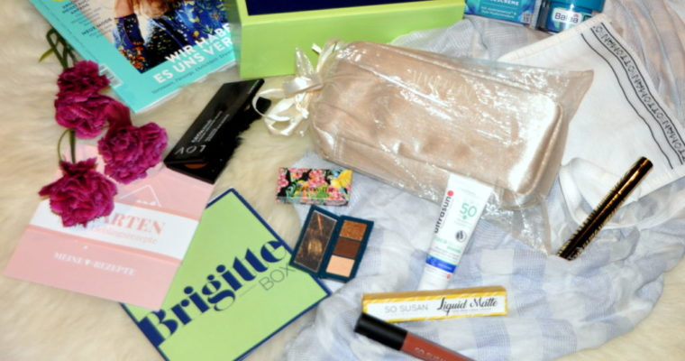 UNBOXING – Meine Brigitte Box März April 2018