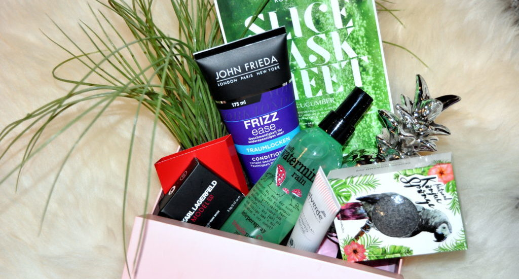 GLOSSYBOX APRIL 2018 – RAIN FOREST EDITION