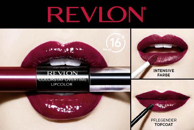 REVLON macht deine Lippen #kissproof!