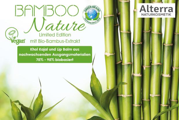Bamboo Nature – Die neue Limited Edition von Alterra Naturkosmetik