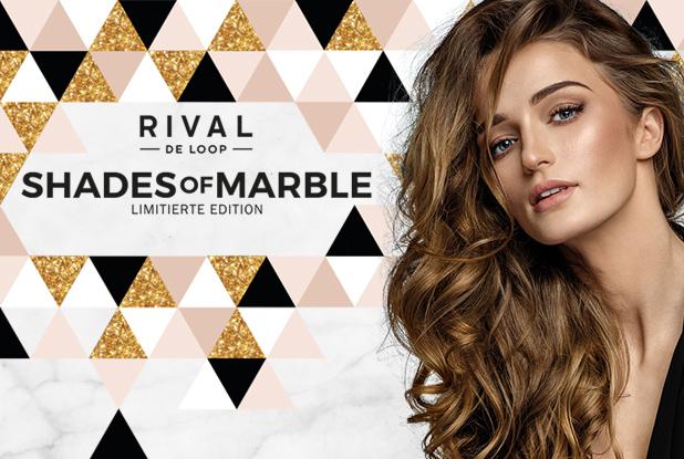 Shades of Marble – der Marmor-Trend ganz neu und limitiert bei RIVAL DE LOOP
