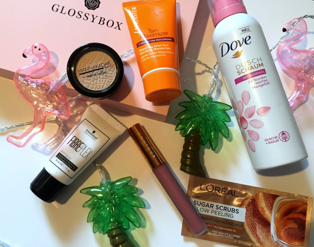 Glossybox August 2018
