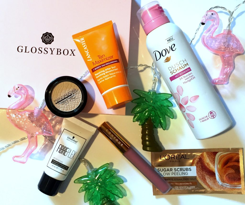 Glossybox August 2018 – Girls just wanna have SUN