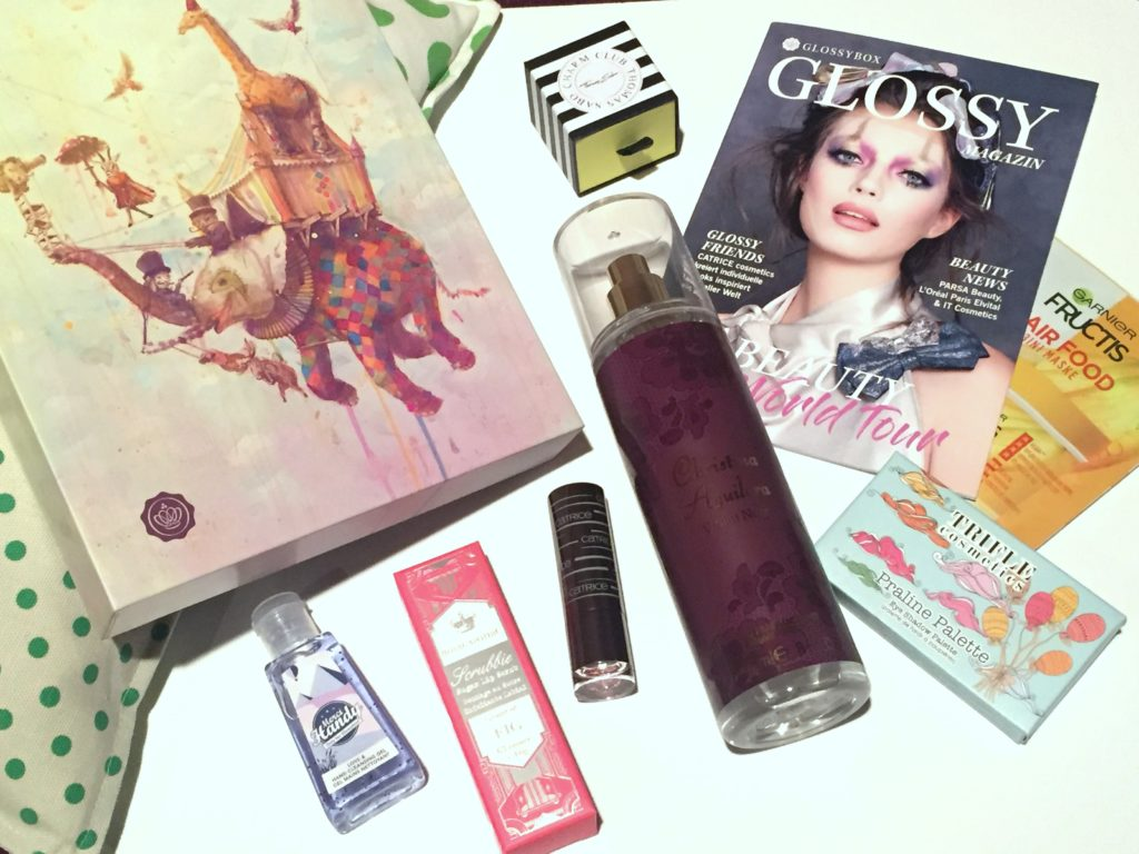 Glossybox September 2018 – BEAUTY World Tour Edition