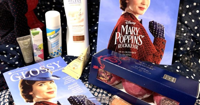 Glossybox Dezember 2018 – Die Marry Poppins' Rückkehr – Edition
