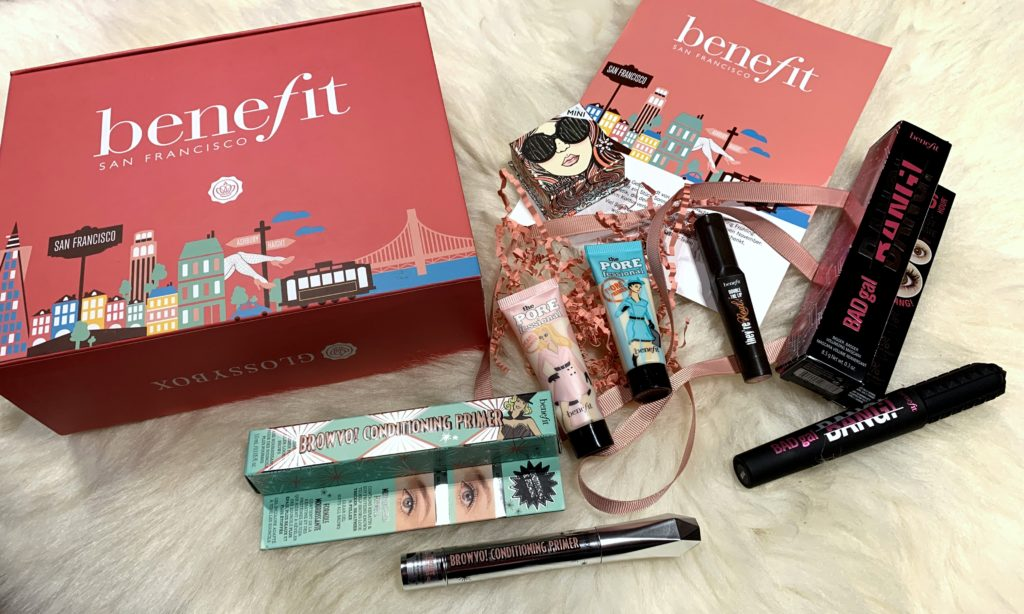 Glossybox Special BENEFIT Edition Dezember 2018
