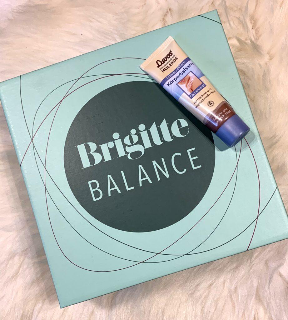 Brigitte Box Balance Januar 2019
