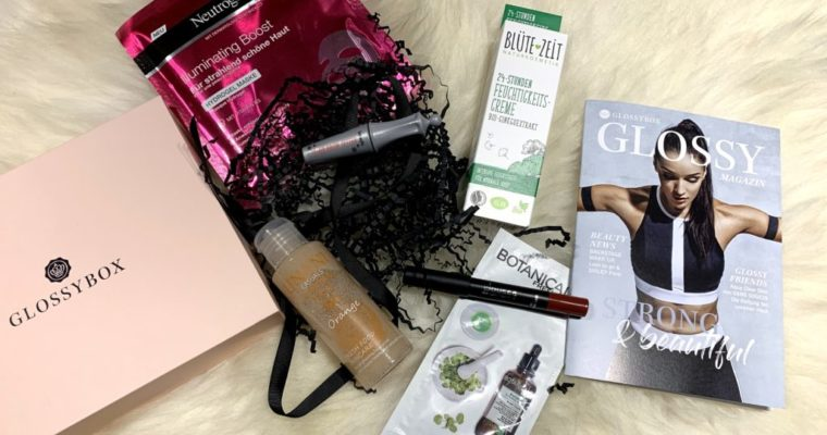 Glossybox Januar 2019 – Strong & Beautiful Edition