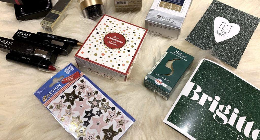 Unboxing: Weihnachtsvorfreude mit der Brigitte Box Nr.6 im November|Dezember 2019