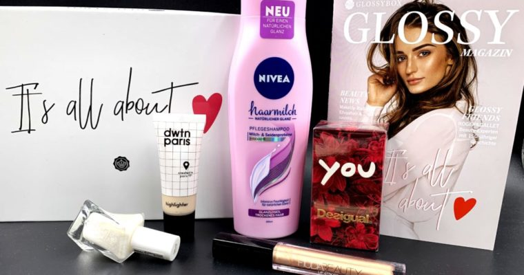 Glossybox Februar 2019 – It's all about Love Edition