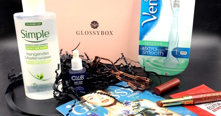 Glossybox April 2019 – SPRING secrets Edition