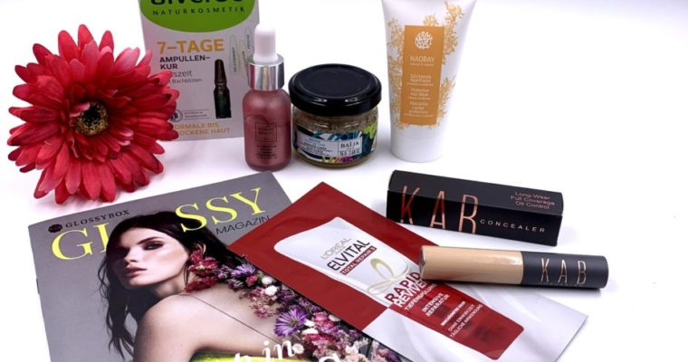 Glossybox April 2021 – Woke up in Spring Edition