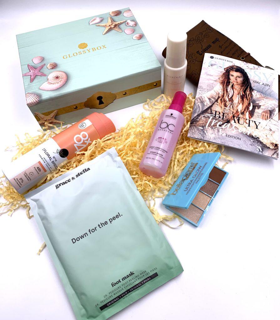 Glossybox Juli 2021 – Beauty Treasures Edition